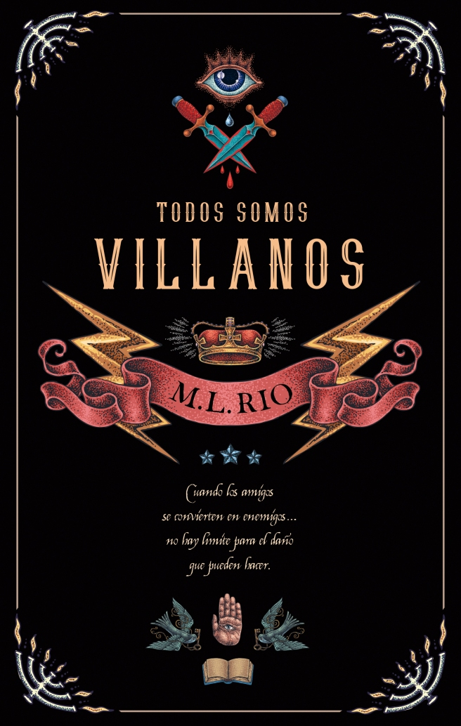 PUCK - _Todos somos villanos_ M.L. Rio JORDI